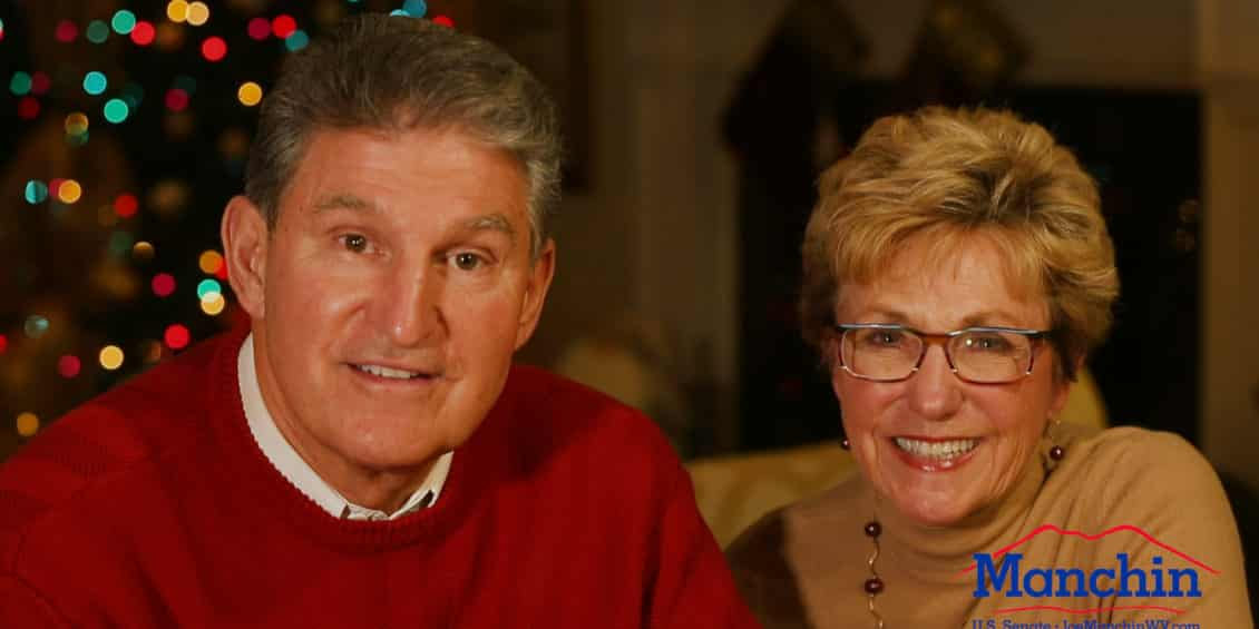 Joe and Gayle at Christmas