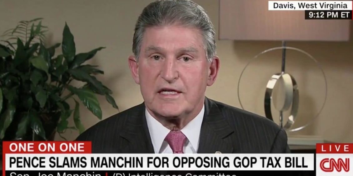 Joe Manchin with Chris Cuomo on CNN