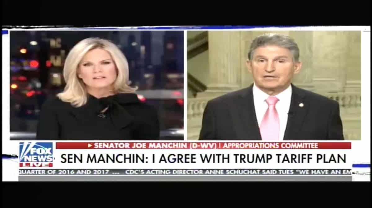 Senator Manchin on Fox News