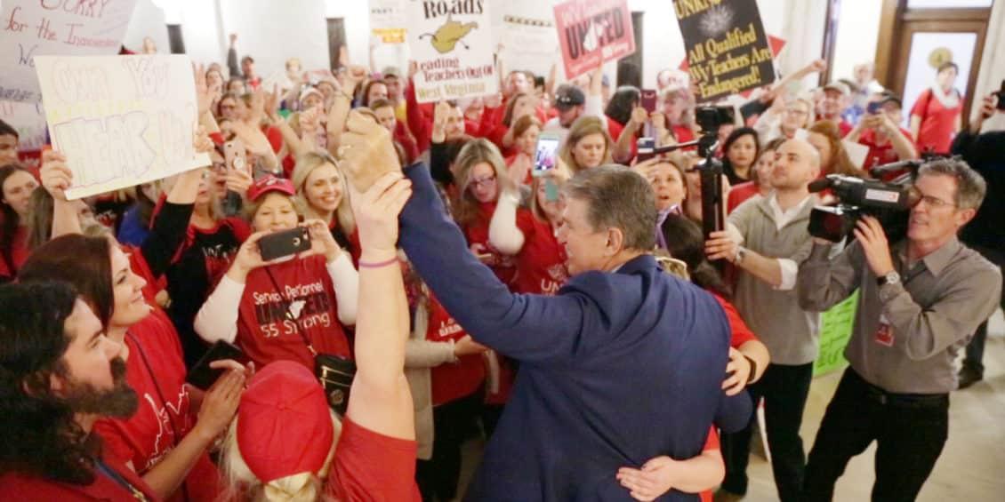 Educators Unanimously Back Manchin • Joe Manchin for Senate